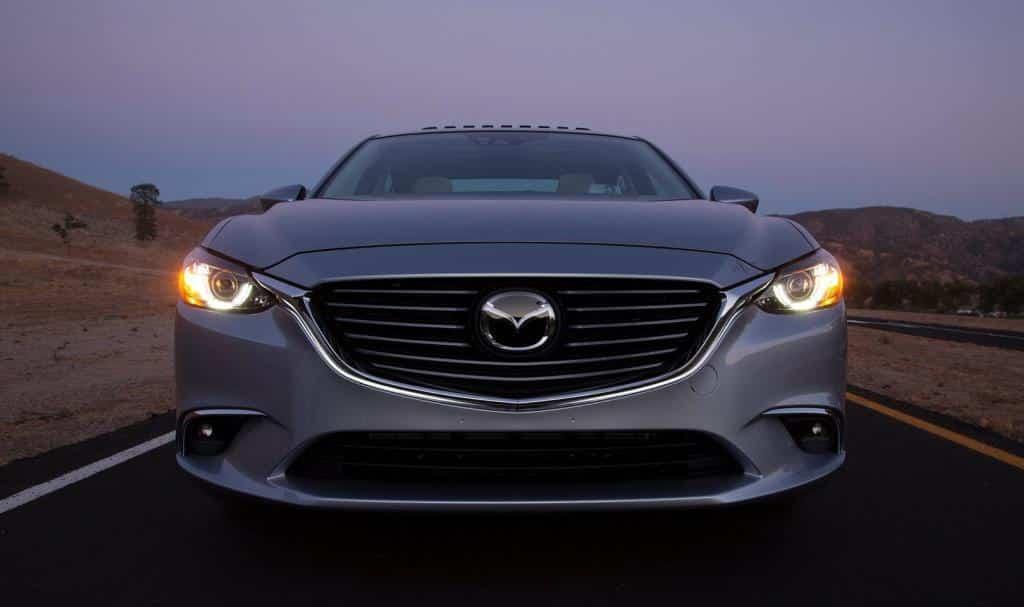 Обновленная Mazda 6 2015 года - вид спереди