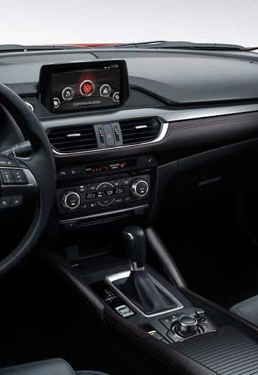 Мультимедиа система новой Mazda 6