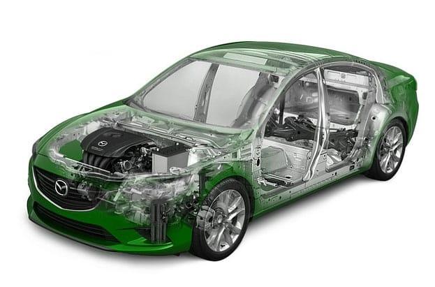 Шумоизоляция Mazda 6 2015 года выпуска