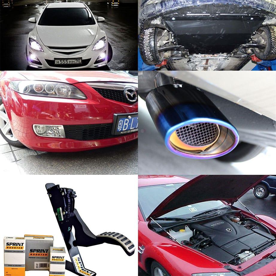 Технический тюнинг Mazda 6 2009 года выпуска