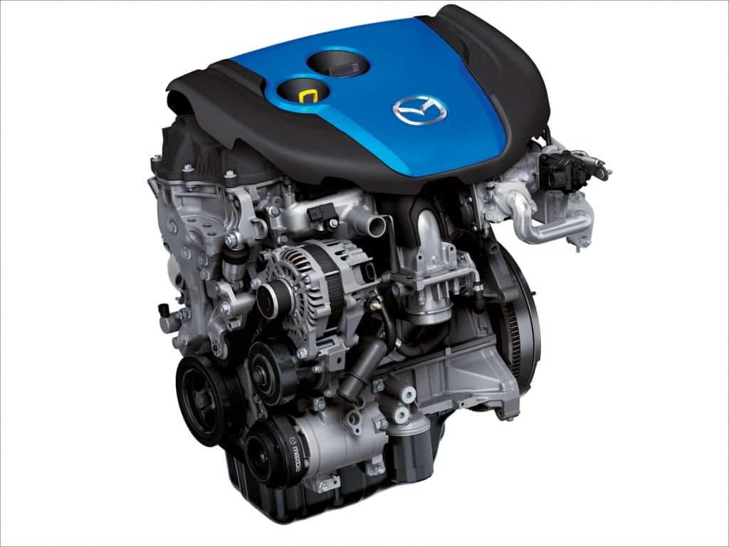 Дизельный двигатель CX-5