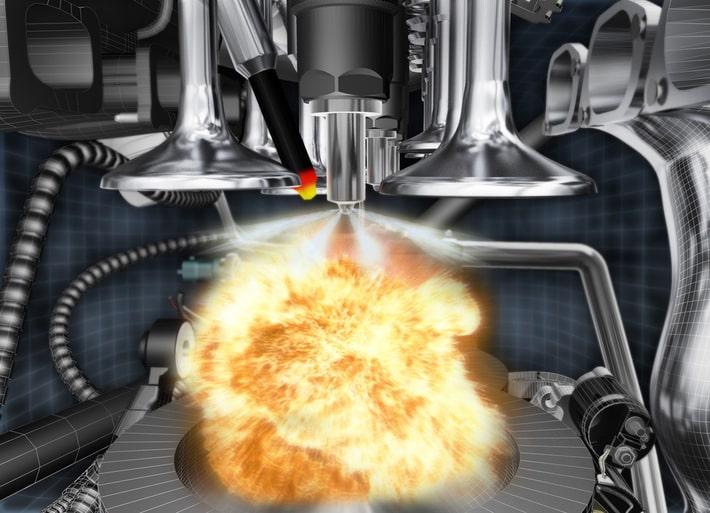 Макет камеры сгорания Мазда CX-5