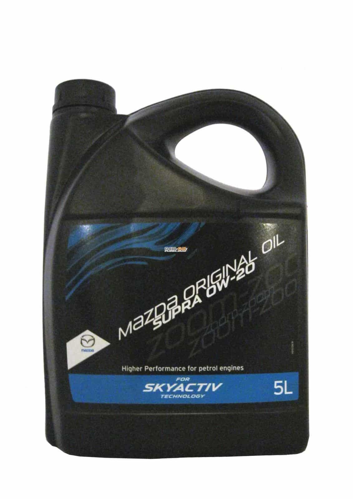 Канистра масла Mazda Supra 0w-20
