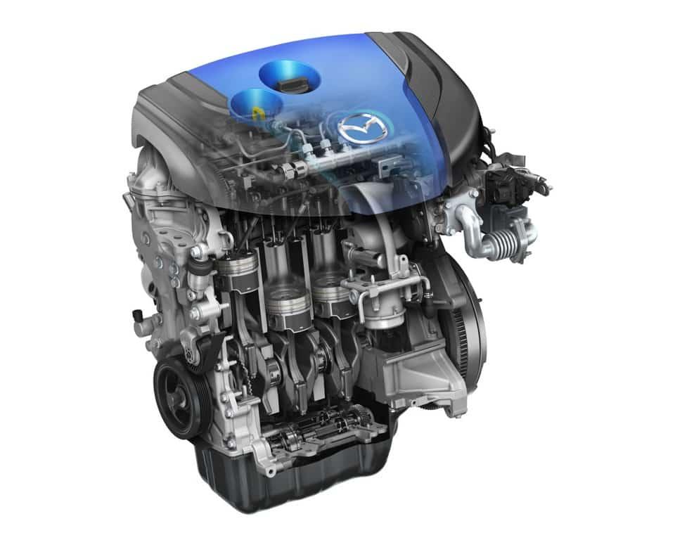 Двигатель Skyactiv Mazda CX-5