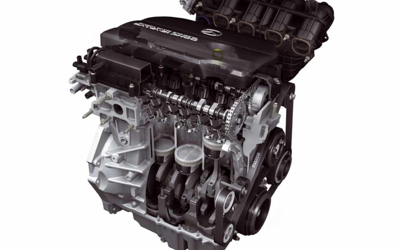 Двигатель Мазда CX-5 в разрезе