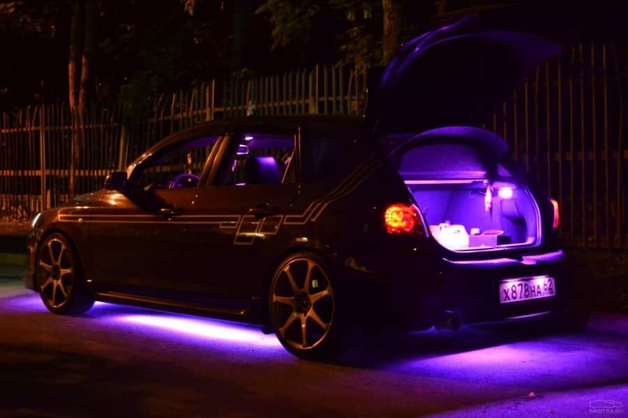 Подсветка салона Mazda 3 MPS