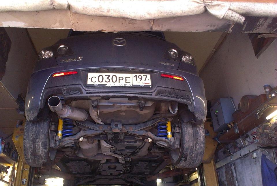 Спортивная подвеска Mazda 3 MPS
