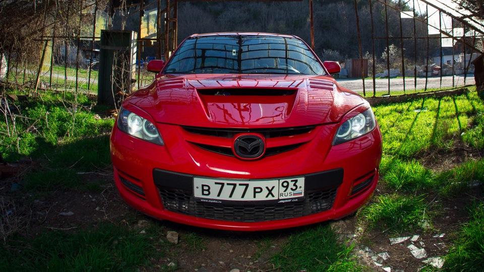 Тюнингованная Mazda 3 MPS