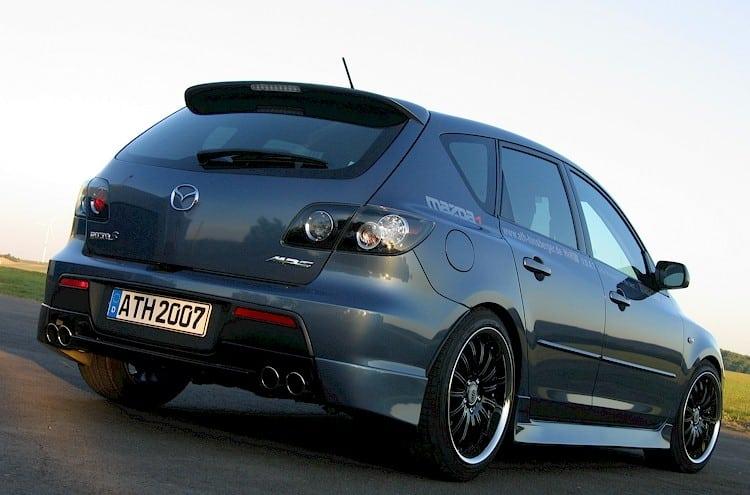 Прокачанная Mazda 3 MPS