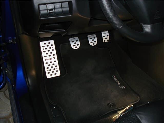 Накладки на педали Mazda 3 MPS