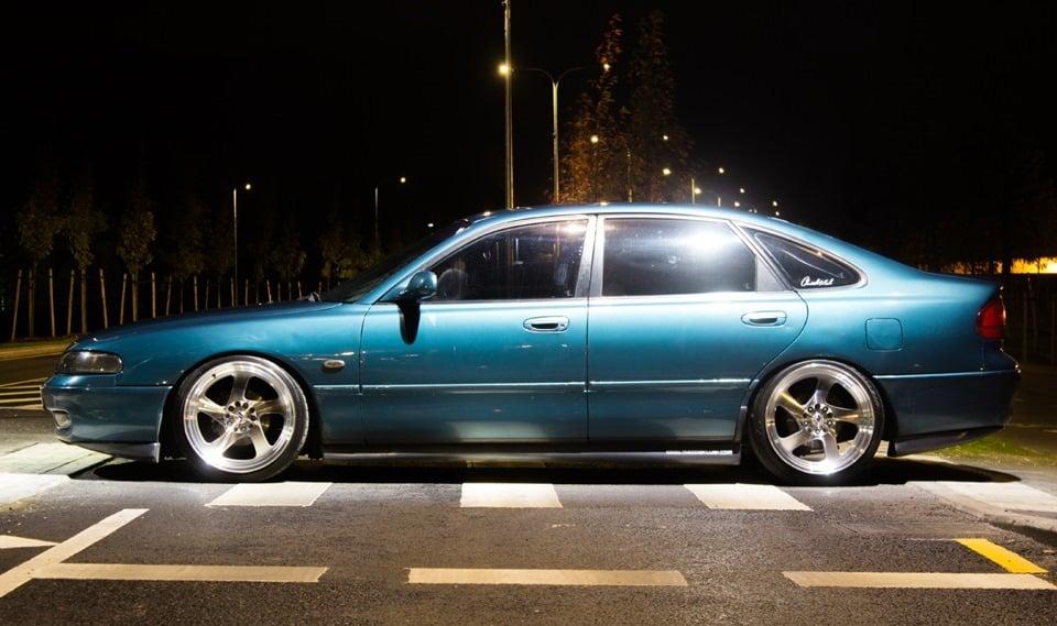 Тюнингованная Mazda 626