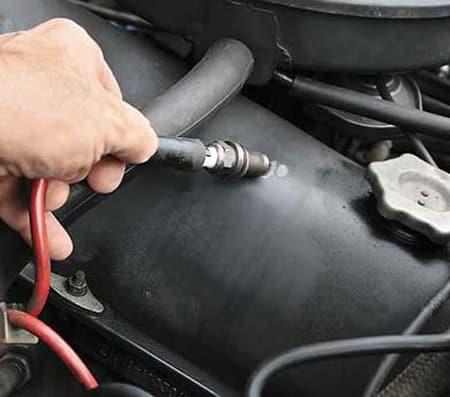 Проверка свечей зажигания Mazda 626