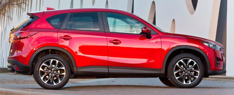 Mazda CX-5 вид сбоку