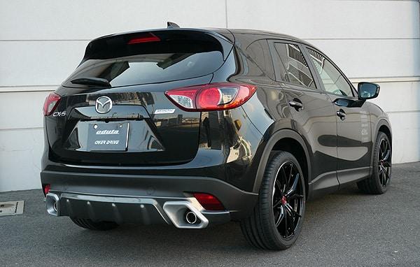 Аэродинамика Mazda CX-5