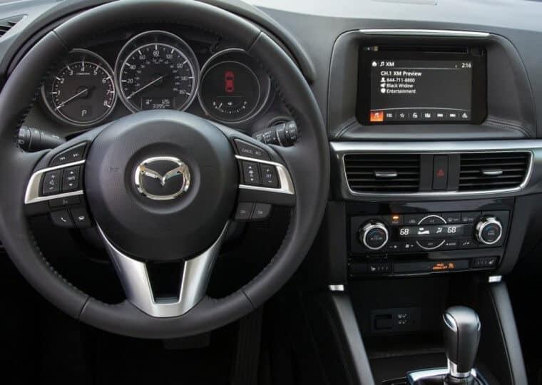 Мультимедиа система Mazda CX-5 2015