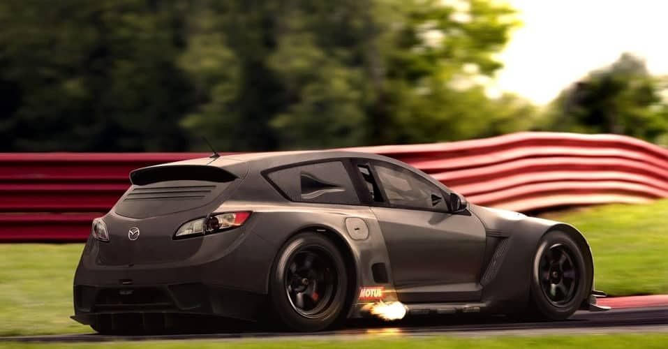 Гоночный тюнинг Mazda 3