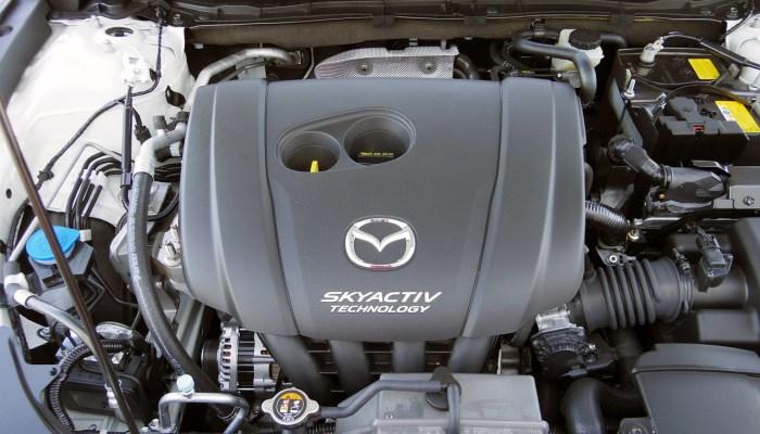 Двигатель Mazda 3 2015 года выпуска объемом 1.6 литра