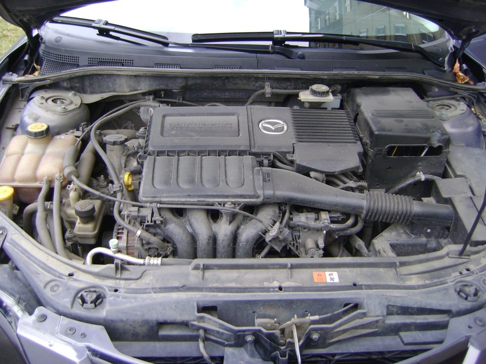 Уставший двигатель Mazda 3
