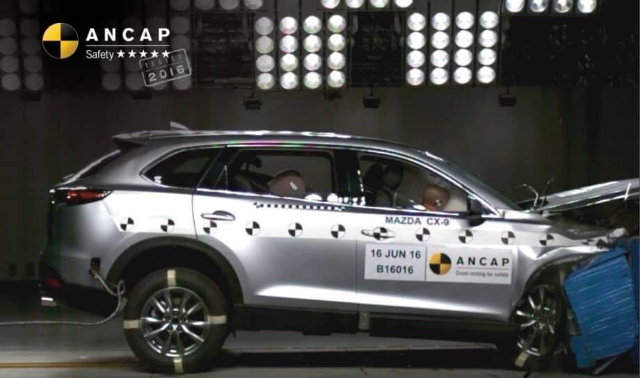 Краш-тест Mazda CX-9