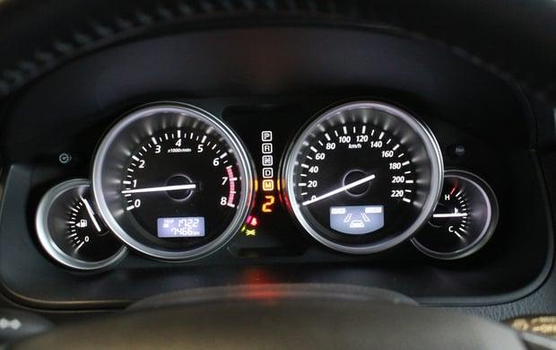 Панель приборов Mazda CX-9