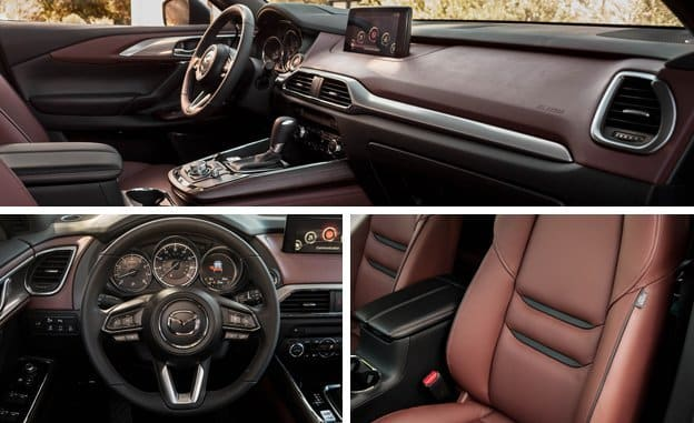 Акценты комфорта Mazda CX-9