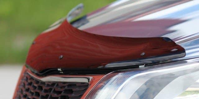 Мухобойка на Mazda Premacy