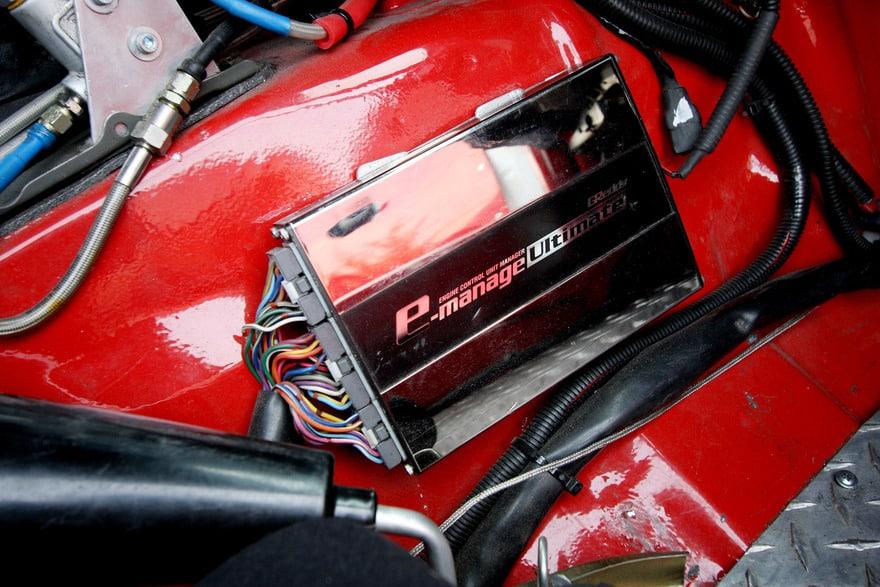 Тюнингованный блок управления Mazda Premacy