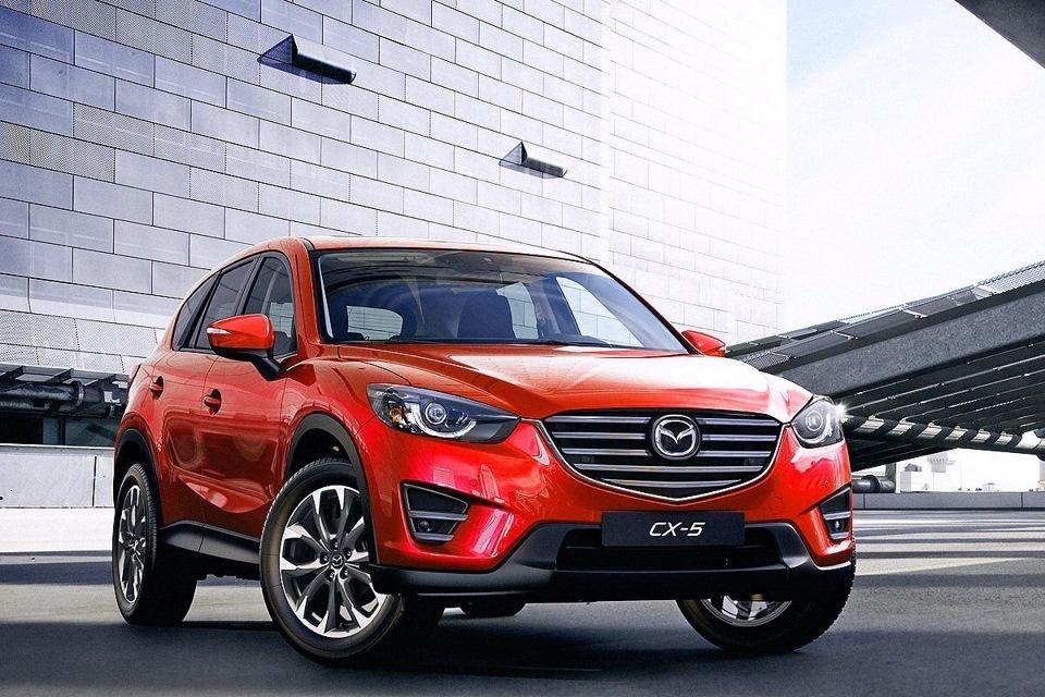 Mazda CX-5 2015 года выпуска