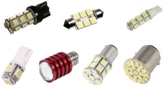 Светодиодные лампочки для Mazda