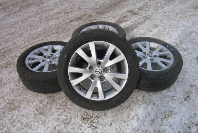 Комплект шин и дисков для Mazda 3