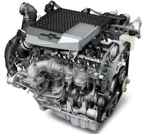 Наглядная модель двигателя Mazda CX-7