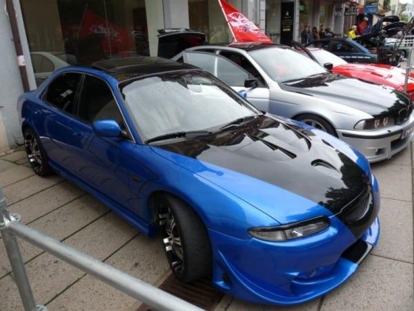 Тюнингованная Mazda Xedos 6