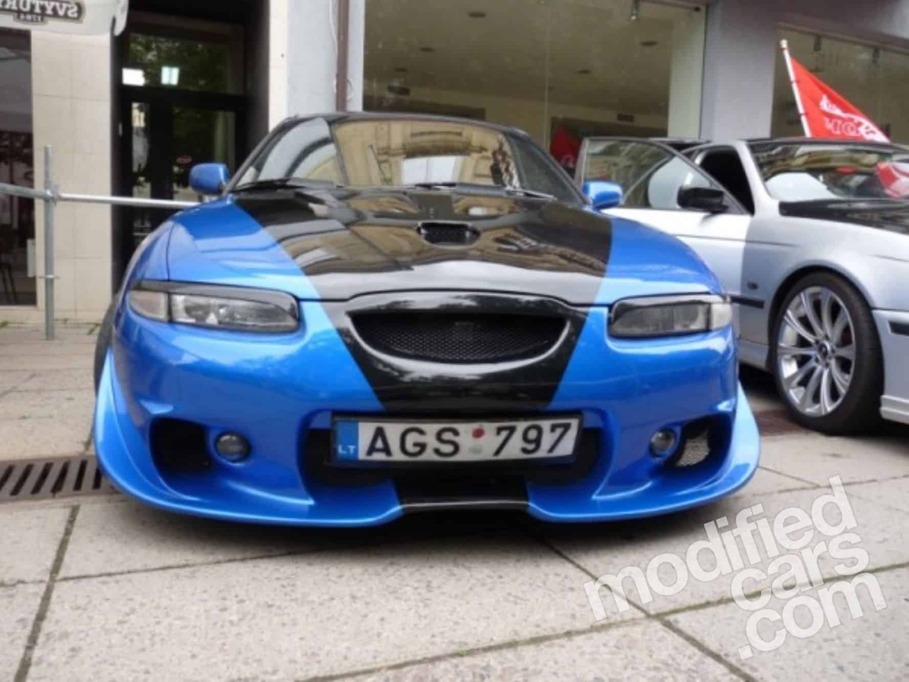 Тюнингованная Mazda Xedos 6 с западного сайта