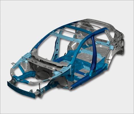 Схема кузова автомобиля Mazda CX-5