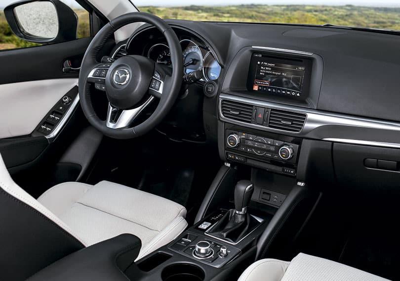 Эргономика новой Mazda CX-5 2015 года выпуска