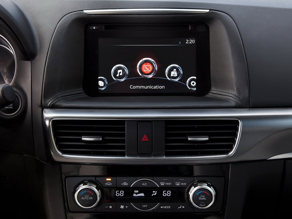 Мультимедийная система Mazda CX-5
