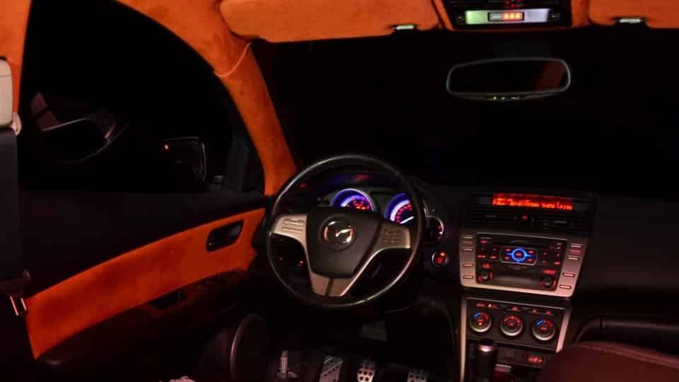 Салон Mazda 6 GH