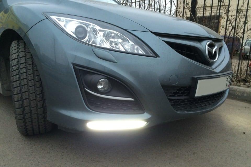 Изменения фар Mazda 6 GH