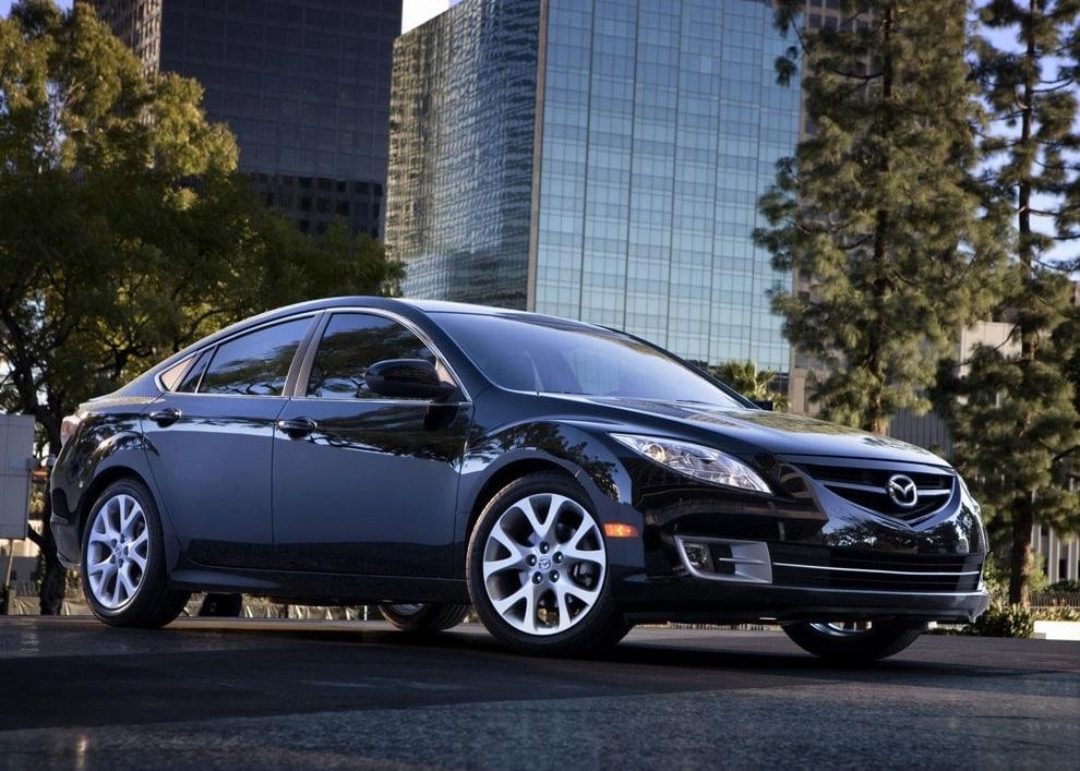 Mazda 6 GH линии кузова