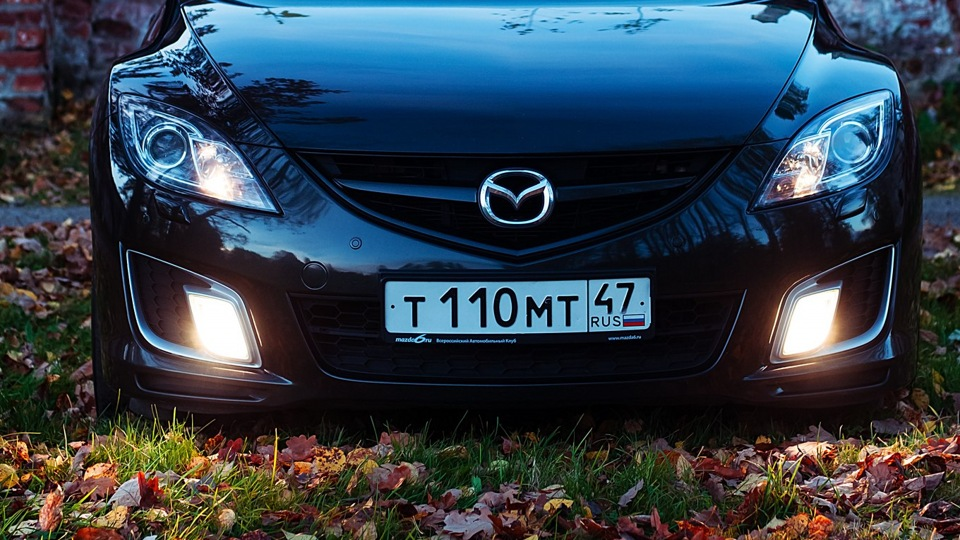 Бампер прокачанной Mazda 6 GH
