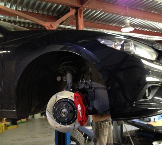 Тюнингованные тормоза Mazda 6 GH