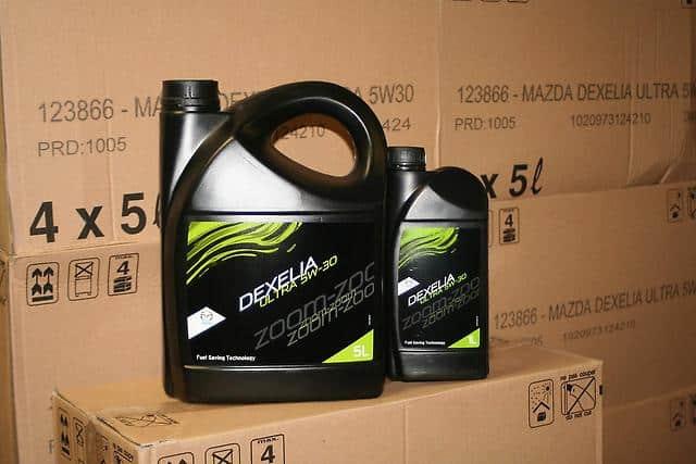 Оригинальное масло для Мазда 3 MPS Dexelia 5w30