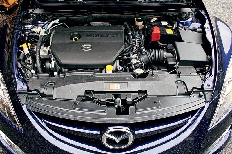 Чипованный двигатель Мазда 6