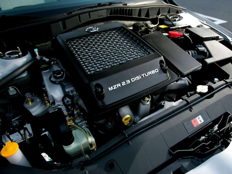Тюнингованный двигатель Мазда 6 с массивным фильтром