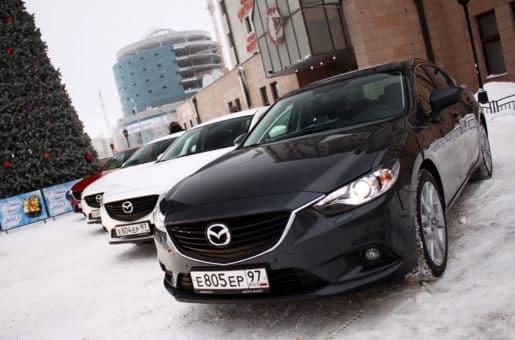 Тест-драйв новой Mazda 6