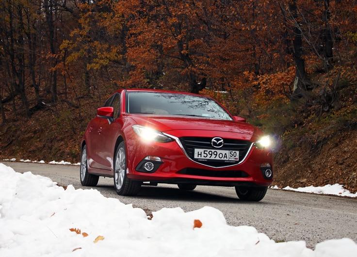 тест драйв для Mazda 3
