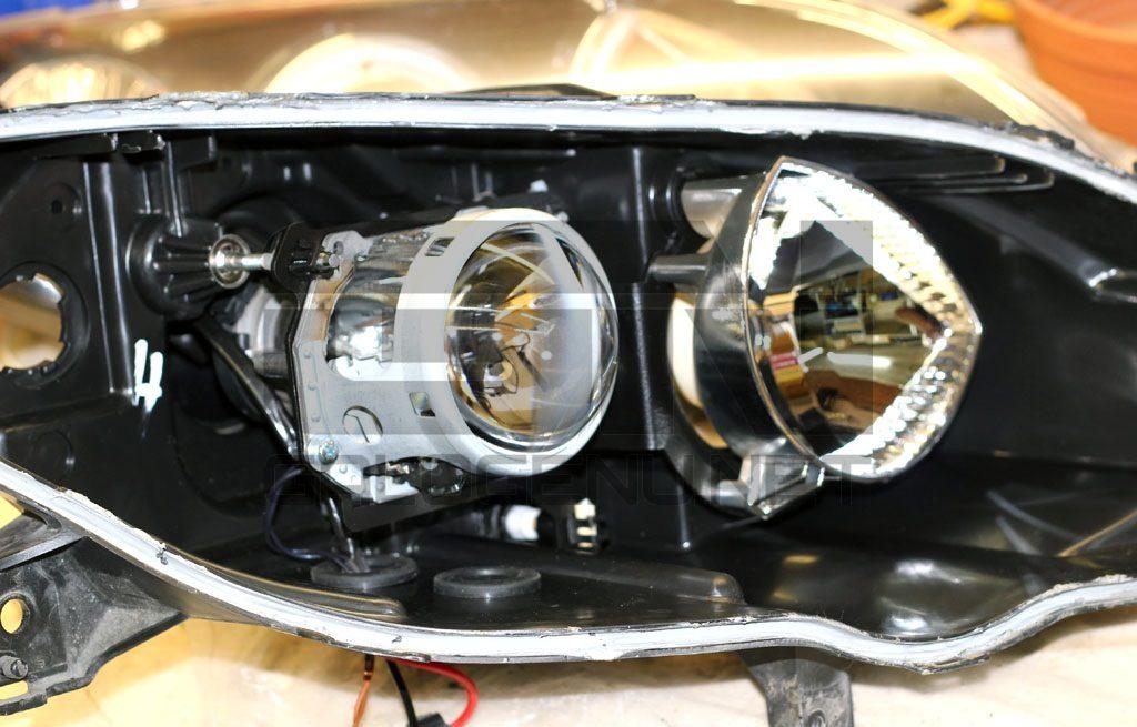 Как сделать лучше свет на мазде 944