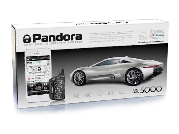 сигнализация Пандора 5000