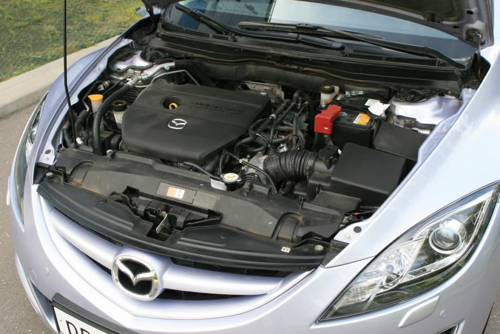 Тест-драйв Mazda6 2,0