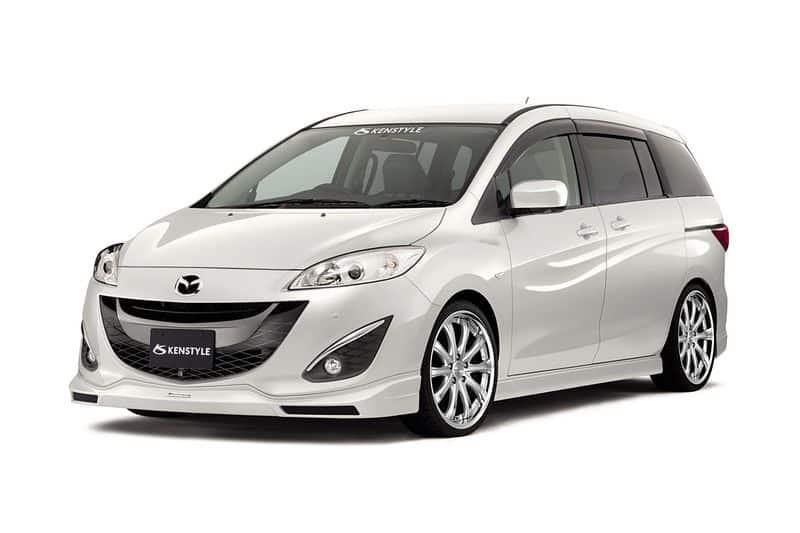 Mazda 5 дизайн